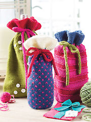 Great Bags for Giving Knit Pattern - Electronic Download