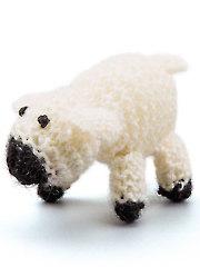 Little Lamb Ornament Knit Pattern