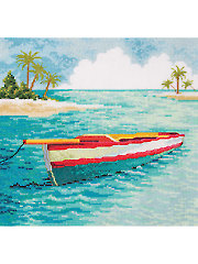 Caribbean Boat - Electronic Download