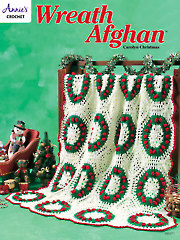 Wreath Afghan - Electronic Download