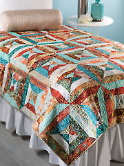 Exclusively Annie's Vanishing Point Quilt Pattern