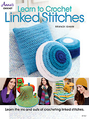 Learn to Crochet Linked Stitches - Electronic Download