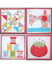 Sew Happy Minis Quilt Pattern