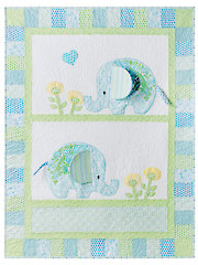 Exclusively Annie's Bobo Baby Quilt Pattern & Panel