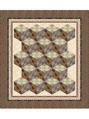 Nine Patch Tumbler Quilt Pattern