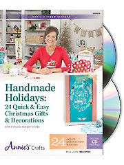 Handmade Holidays: 24 Quick & Easy Christmas Gifts & Decorations DVD