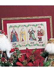 Centuries of Santa