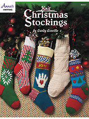 Knit Christmas Stockings - Electronic Download