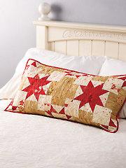 Christmas Star Pillow Pattern
