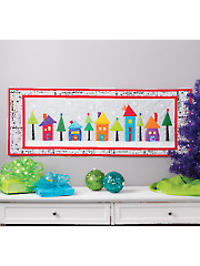 Welcome to Christmas Town Quilt Pattern