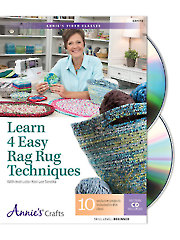 Learn 4 Easy Rag Rug Techniques Class DVD