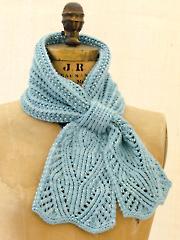 Chantilly Lace Ascot Knit Pattern