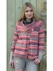 4597: Ladies Short Jackets Knit Pattern