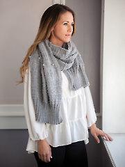 ANNIE'S SIGNATURE DESIGNS: Gansey Stole Knit Pattern