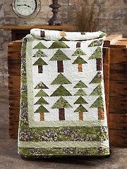 Exclusively Annie's Alpine Woods Quilt Pattern