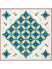 Mexican Star Dance Quilt Pattern