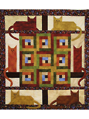 Cats in the Cabin Quilt Pattern