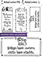 "Animal Lover Panel - 18"" x 22"""