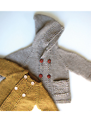 Latte Baby Coat Knit Pattern