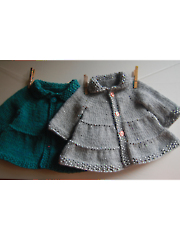 Tiered Baby Coat & Jacket Knit Pattern