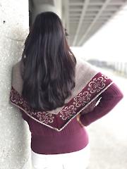 Evanston Shawl Knit Pattern