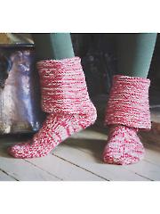 Farm Slippers Knit Pattern