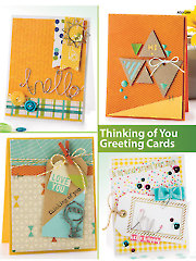 Thinking of You Greeting Cards - Electronic Download