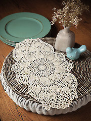 Coffee Table Doily Kit