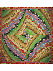 Whirling Bargello Quilt Pattern
