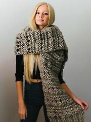 Leo Scarf Knit Pattern