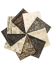 Stonehenge Elements Slate Fat Quarters - 8/pkg.