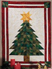 Oh, Christmas Tree Wall Hanging Pattern