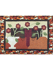 Cozy Cats Wall Hanging Pattern