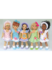 "Granny's Sunday Best For 18"" Dolls"