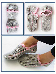 Ribbed Slipper Pocket Socks