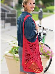 Radiant Motif Market Bag