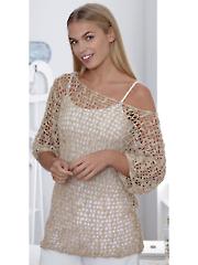 Mesh Tunic & Top Crochet Pattern