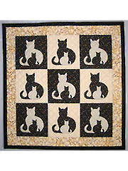 Sidekick Cat Quilt Pattern