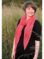 Lodestar Lace Stole Knit Pattern