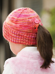 All Buttoned Up Beanie Knit Pattern