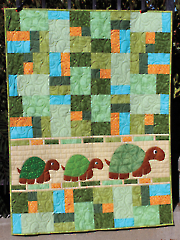 Double Jumble Turtle Quilt Pattern
