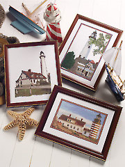 Lighthouses Counted Cross Stitch