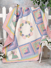 Sue's Garden Wreath Quilt Pattern