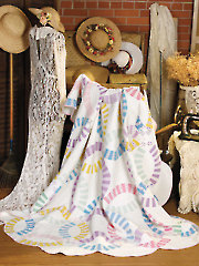 Antique Double Wedding Ring Quilt Pattern