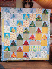 Big House in the Woods Quilt Pattern
