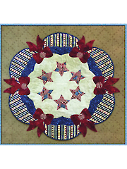 Freedom All Around Us Table Topper Pattern