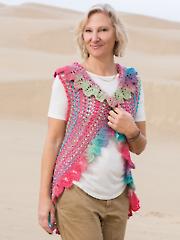 ANNIE'S SIGNATURE DESIGNS: Amadores Vest Knit Pattern