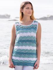 ANNIE'S SIGNATURE DESIGN: Wisteria Top Crochet Pattern