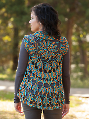 ANNIE'S SIGNATURE DESIGNS: Tulia Circle Vest Crochet Pattern