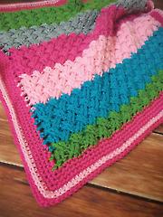 Woven Love Blanket Crochet Pattern